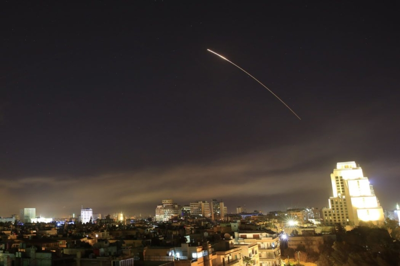 USA, France and UK Missiles Syria Over Chemical Weapon use
